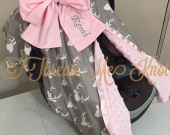 New Country Girl Car Seat Canopy with slit & Girl car seat canopy   Etsy