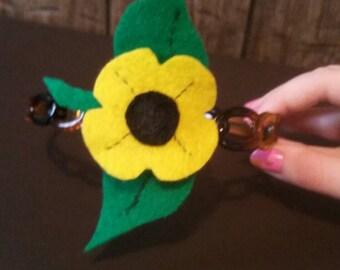 Sunny Sunflower Headband