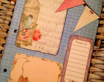 Pink Writing Journal Pages/ Diary Inserts-Choose UR Own Adventure Journal-Writing-Smash Book-Creative Writing