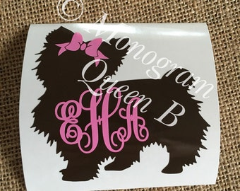 Yorkie Decal, Yorkshire Terrier Decal, Love Yorkie, Yorkie, Coffee Mug Decal, Car Decal, Cell Phone Decal, Yeti decal