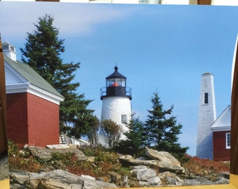 Lighthouse Landscape Photograph