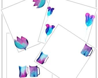 Blog Image - Instagram Image - Website Image - Heart Art - Brand Image - Stock Image - Watercolor painting Image - Social Media Image