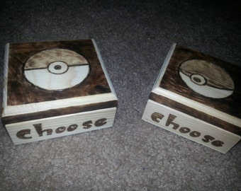 I choose you! Pokemon Boxes