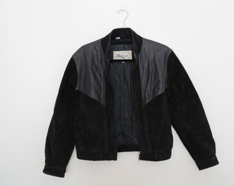 Vintage leather and Suede Jacket