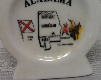 Alabama Tooth Pick Holder Porcelain