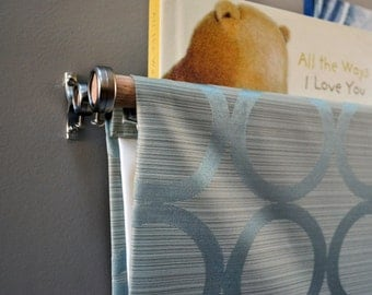 Blue Circle Fabric Book Sling - Book Holder, Bookcase