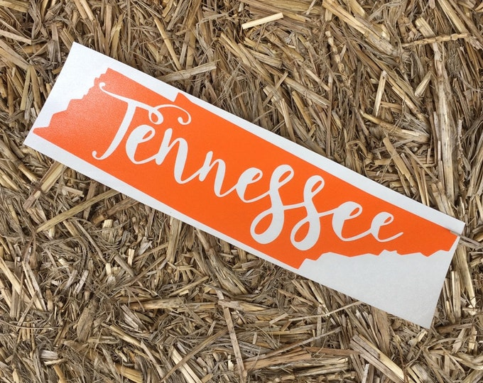 Tennessee || HOME || State Decal