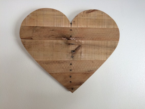 Pallet Wood Heart by PenneCarter on Etsy