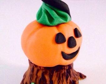 Halloween Cake Decorations Nz : Items similar to Sugar fondant pumpkins - edible Halloween ...