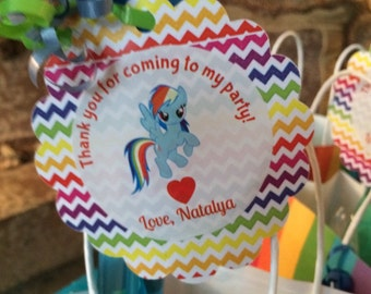 My Little Pony tags (12)