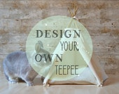 Rabbit bed bunny teepee guinea pig teepee - design your own teepee