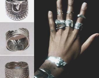 Winged Scarab Ring
