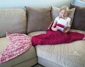 Pink Mermaid Blanket, Mermaid Tail Blanket, Adult Mermaid Blanket, Mermaid Blanket Adult, Mermaid Blanket For Adults, Mermaid Lap Blanket,