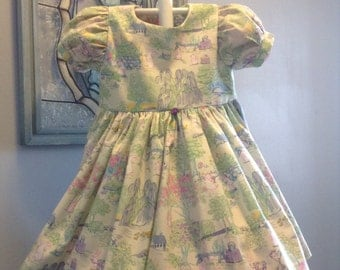 The Easter Bunny Dress, Size 18-24 months