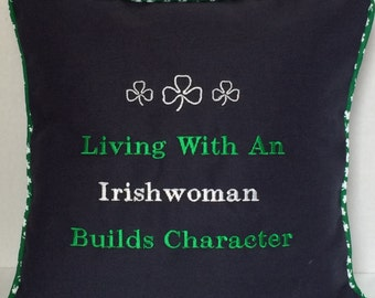 Irishwoman Pillow