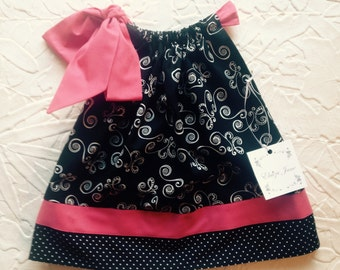Pillowcase Style Dress - Size 2 by Elaiza Jane
