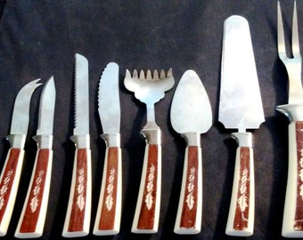 Vintage Regent Sheffield English Cutlery Replacement 8 Serving Pieces Priced Per Piece All or Part  1960s Dinnerware Mid Century Collectable