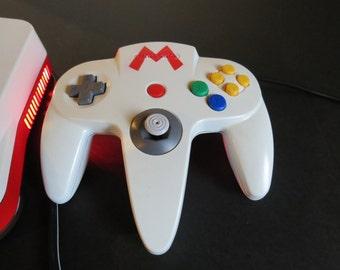 Nintendo 64 Fire Mario controller