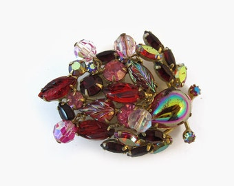 Signed Vintage Weiss Brooch