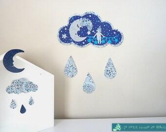 Decoration cloud magical Moon Elf Liberty Adelajda star