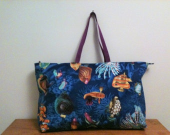 Ocean Fish Beach Bag