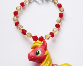 My Little Pony Big Macintosh Swarovski Bracelet
