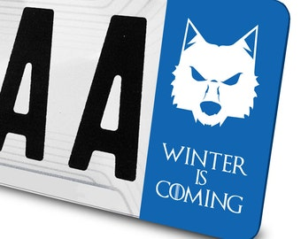 Sticker Stark Game of Thrones for number plates