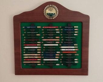 Golf Pencil Display Frame - Golf Gift