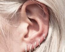 HALLOWEEN SALE - Cartilage Ring,  Earlobe Hoop, Helix Ring, Tragus Ring Hoop, Cartilage Earring, Cartilage Ring Piercing, Helix Hoop, Sale!