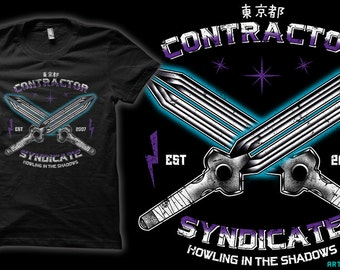 The Syndicate - Darker Than Black Anime T-Shirt