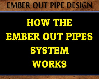 How the Ember Out Pipes System Works • Not For Sale • Images Tell The Story • Smoking Pipe