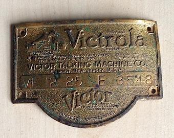 victrola talking machine parts