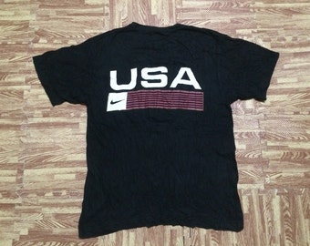 Vintage 90s NIKE USA Team Tshirt Made in Usa