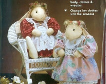 "Gooseberry Hill Morning Glory A Bunny to Love 20""  Soft Doll Pattern"
