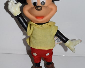 Vintage 1970s Dakin&Co. Mickey Mouse posable doll