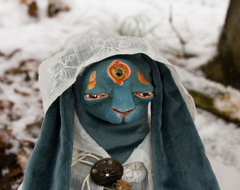 Dawn the Witch, Ooak Art Doll