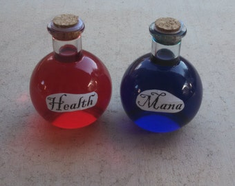 Diablo III Health And Mana Potions
