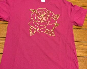 Rose Lime on Magenta