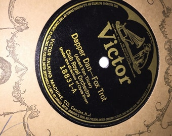 "10"" VICTOR Records - Victor Talking Machine Co. - LOT of 10+ - Early 1900's"