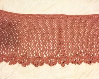 Rose Crocheted Shawl