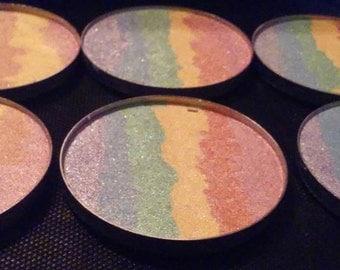 HD Rainbow highlight pressed powder