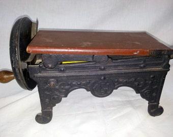 Antique German Tobacco Shredding Machine Salesman's Sample