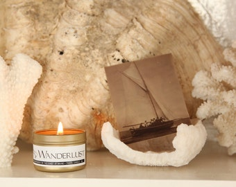 Wanderlust - All natural soy wax candle with essential oils
