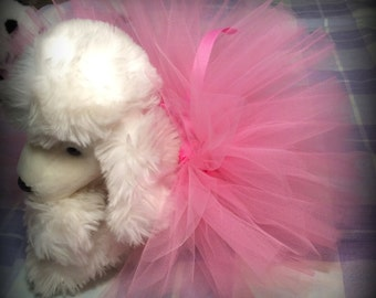 Pink Puppy Tutu, Puppy Tutu, Dog Tutu, Animal Tutu, Dog Clothes, Cat Clothes, Cat Tutu, Kitten Clothes, Kitten Tutu, Pet Clothes, Pet Tutu