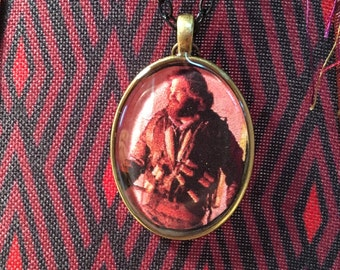 Kurt Russell The Thing John Carpenter Resin Pendant Necklace Horror MacReady