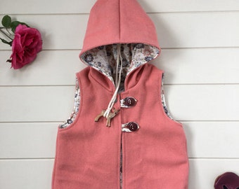 Pixie hood vest