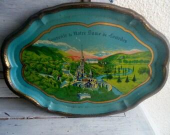 Metal tray,vintage tray  ,period 1930