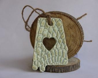 Heart of Dixie AL Ornament