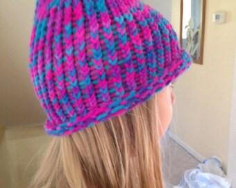 Handmade Knitted Winter Hat