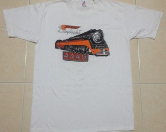 Vintage 80's Daylight 4449 Southern Pacific Train T-Shirt.